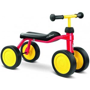 Vehiculul fara pedale actionat cu picioarele de la Pukylino este recomandat copiilor cu varsta peste 12 luni si cu inaltimea de peste 75 cm. Pukylino este un concept unic de vehicul actionat cu picioarele si reprezinta primul pas in dezvoltarea mobilitatii copilului tau.