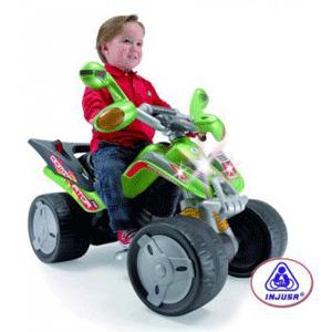 Injusa - ATV Electric Copii Injusa Quad Mantis 12V