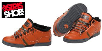 Adidasi gheata Osiris MID NYC 83 SHR imblaniti de iarna