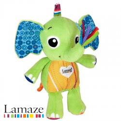 Jucarie Lamaze Elefantel de Plus pentru bebelusi