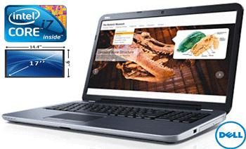 Laptop Dell Inspiron 17R 5721 – Laptop Full HD, display 17 inch, procesor Intel i7 si 8Gb in oferta de pret