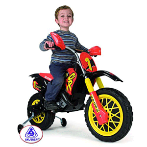 Motocicleta electrica Injusa Motocross CR
