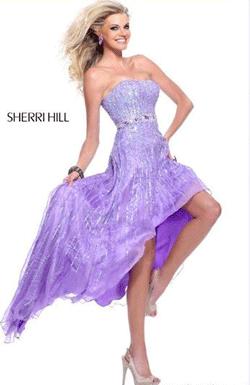 Rochie Sherri Hill 8503 Lila