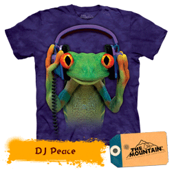 Tricou 3D The Mountain DJ Peace