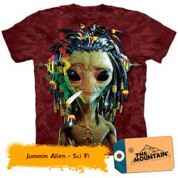 Tricou 3D The Mountain Jammin Alien