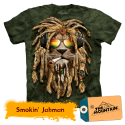 Tricou 3D The Mountain Smokin Jahman