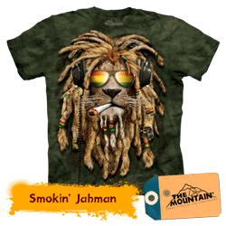 Tricou 3D The Mountain Smokin Jahman