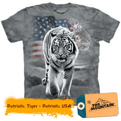 Tricou 3D US Tiger