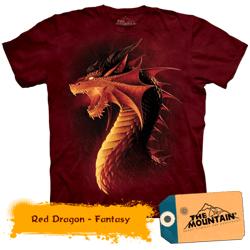Tricou tridimensional The Mountain Dragon