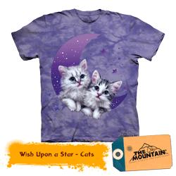 Tricou pisicute dragute tridimensional