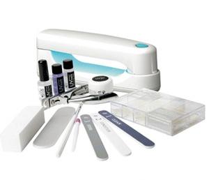 Set aplicare unghii false ultraviolete