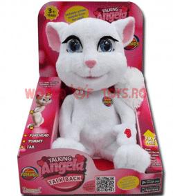 Jucarie de plus Pisicuta Vorbareata Angela Android