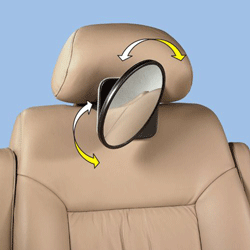 Oglinda auto posterioara pentru vizualizarea bebelusului in masina