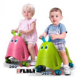 Feber - Vehicul fara pedale Gandacel Runy pentru copii 1-3 ani