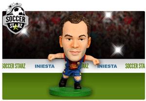 Figurina Soccerstarz - Barcelona ANDRES INIESTA