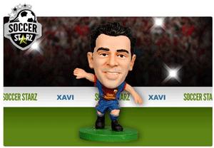 Figurina Soccerstarz - Barcelona XAVI HERNANDEZ