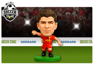 Figurina Soccerstarz - Liverpool STEVEN GERRARD