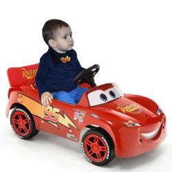 Masinuta cu pedale Cars - Fulger McQueen