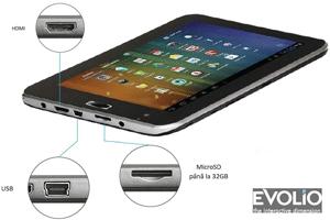 Multiple modalitati de conectare la Internet cu Tableta Evotab Fun