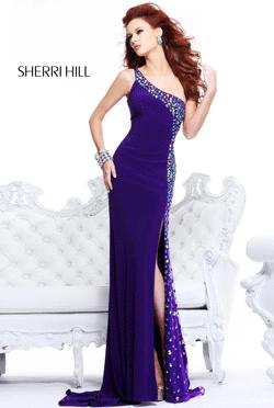 Rochie de seara Sherri Hill Purple 21160