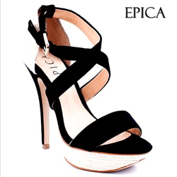 Sandale Epica din piele intoarsa