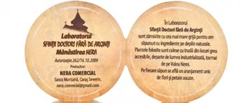 Sapunuri BIO naturale de la Manastirea Nera fara conservanti, coloranti, parfum, parafina.