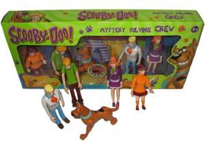 Set Figurine personaje Scooby Doo