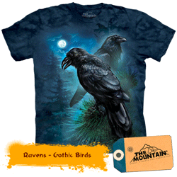 Tricou tridimensional The Mountain Gothic
