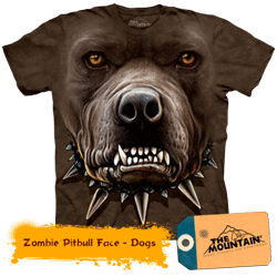 Tricou tridimensional The Mountain Pittbul Zombie