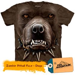 Tricou tridimensional The Mountain Pittbul Zombie