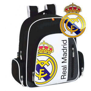 Ghiozdan junior colectia Real Madrid 38 x 32 x 12 cm