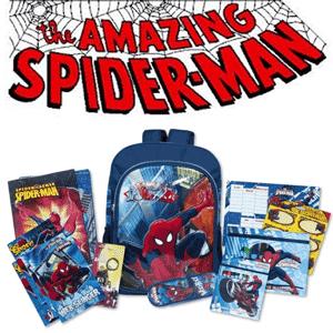 vezi in magazin Ghiozdan echipat mare Spiderman