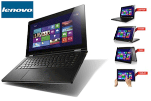 "IdeaPad Yoga 13, 13.3"" (1600x900) IPS, Multi-Touch"