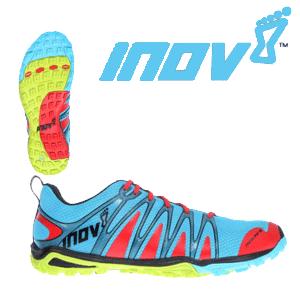 Pantofi alergare INOV8 245 Aqua Lime Red