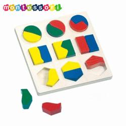 Puzzle Montessori: Alege si potriveste