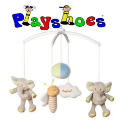 Carusel muzical cu cheita Playshoes Elefant