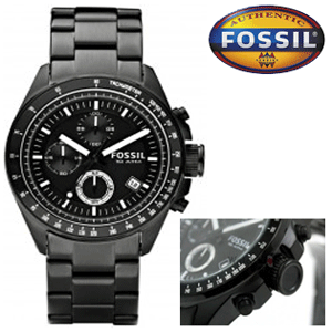 Ceas original barbatesc Fossil Decker CH2601