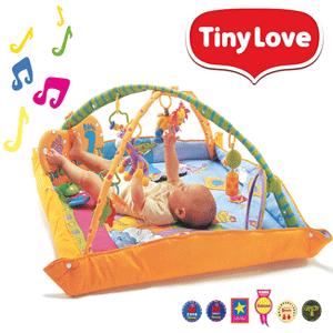 "Centru de joaca bebelusi: salteluta Tiny Love Gymini ""Loveste & Canta"""