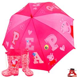 Cizme si umbrela Peppa Pig