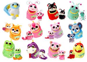 Plusurile Podlings din colectia Keel Toys