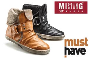 Incaltaminte de dama si barbati Mustang: ghete, botine, pantofi si bascheti