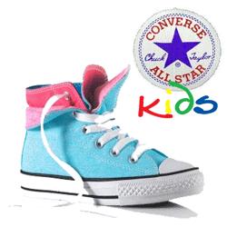 Bascheti Converse pentru fete 5-12 ani