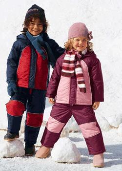 Costum de ski copii captusit
