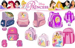 Ghiozdane de calitate pentru scoala Printesele Disney: usoare si incapatoare