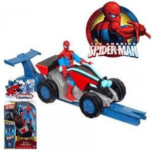 Jucarie ATV cu personajul Spiderman
