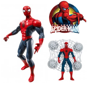 Ultimate Spiderman cu panza de paianjen