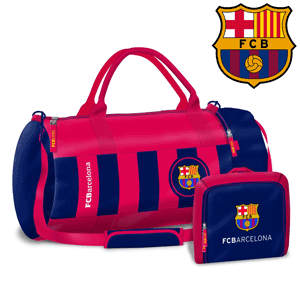 Geanta de sala sport si antrenament FC Barcelona