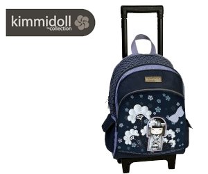 Ghiozdan cu troler pentru copii Kimmidoll