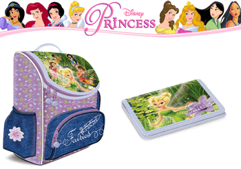 Ghiozdan Ars Una Disney Fairies ergonomic