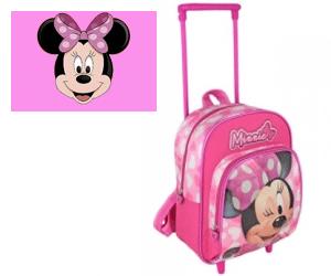 Ghiozdan cu Troler gradinita Minnie Mouse
